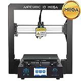 Anycubic i3 MEGA Imprimante 3d Écran Tactile TFT 3,5 Pouces avec Grande Taille D'impression φ210x210x205(Noir)