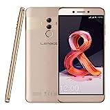 Leagoo T8s - 5,5' 4G Smartphone, Android 8.1 Octa Core 4Go+32Go, Appareil Photo 13MP+2MP+5MP, Reconnaissance Faciale, Lecteur D'empreinte Digitale, Dual SIM, Téléphones Portables Débloqués