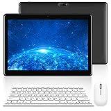 Tablette Tactile Ecran 10 Pouces - 4G Doule SIM/WiFi 2Go RAM 32Go ROM Android 7.0 8500mAh Batterie Quad Core Bluetooth GPS OTG -Noir
