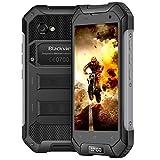 Blackview BV6000s Smartphone Incassable,16Go ROM+2Go RAM 4500mAh Batterie, Dual SIM, Dual Caméra, IP68 Etanche Telephone, Résistant aux Chocs et Poussière, NFC/GPS+GLONASS, Noir