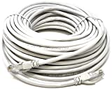 Mr. Tronic 20 Mètres Câble de Réseau Ethernet 20m | CAT5E, AWG24, CCA, UTP, RJ45 | Gris