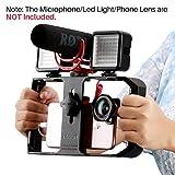ULANZI U-rig Pro Smartphone vidéo Rig Handheld iPhone Filmmaking Cage avec 3 Sabot Mounts téléphone vidéo Stabilisateur pour vidéoprojecteur Videomaker pour iPhone X 8 7 Plus Samsung Xiaomi