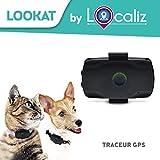 LOCALIZ Lookat Traceur GPS pour Petit Chien et Chat