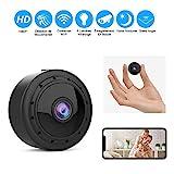 Mini Camera Espion WiFi, Full HD 1080P caméra cachée sans fil avec vision nocturne et détection de mouvement et micro Nomai