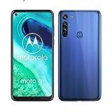Motorola G8 - Smartphone portable débloqué 4G - ( écran HD 6,4'-Android 10.0 -64GO) Bleu