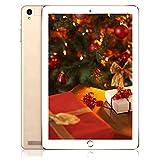 Tablette 10 Pouces Tactile WiFi 32Go, 3Go de RAM, Écran HD Android 7.0 Quad Core Double Caméra, Bluetooth/GPS/OTG.