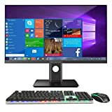 Ordinateur de Bureau Tout-en-Un NEXSMART avec Intel i7 et Ordinateur Tout-en-Un Windows 10 préinstallé, 8 Go de DDR3 480 SSD prenant en Charge Le WiFi et 23,8 Pouces 1920x1080 FHD (Écran Non Tactile) Nomai
