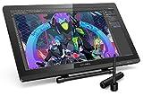 XP-PEN Artist 22PRO : Tablette graphique avec écran à 2 stylets rechargeable et support ajustable