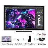 Huion GT-220 V2 : Tablette graphique 21,5 pouces HD 1920 x 1080 pour Windows et Mac Nomai