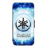 Neatik Etui à Rabat pour iPhone X Motif Fan de Yamaha Version Space