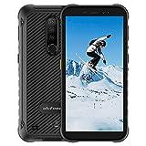 4Go+64Go Octa-Core Écran 5,7 Pouces Telephone Portable Incassable, Ulefone Armor X8 Android 10 Smartphone Debloque IP68 / IP69K étanche Antichoc 5080mAh 4G Double SIM GPS NFC TypeC(Noir)