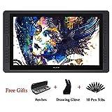 Huion Kamvas GT-221 Pro : Tablette à dessin professionnelle à Stylo 8192 niveaux de sensibilité à la pression, 10 Touches Express et barre tactile